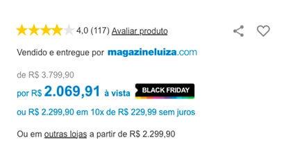 b2c4cf94f Black Friday 2018 com até 80% OFF | Magazine Luiza