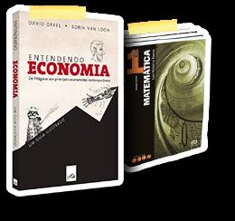 Livros de ecnomoia e matemática